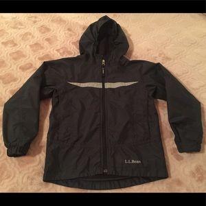 Kids L. L. Bean fleece lined jacket 5-6 years